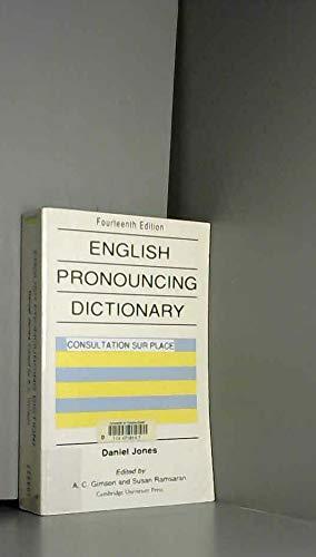 English Pronouncing Dictionary: Jones, Daniel