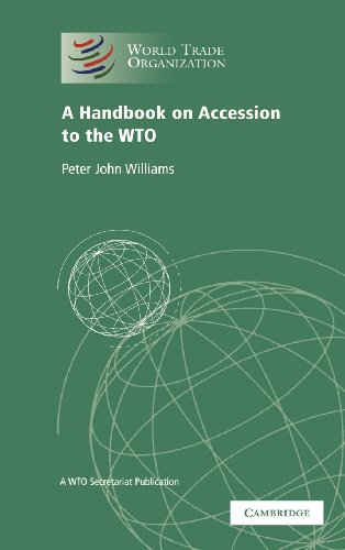 9780521425940: A Handbook on Accession to the WTO: A WTO Secretariat Publication (World Trade Organization)