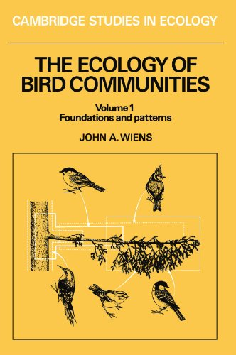9780521426343: 001: The Ecology of Bird Communities (Volume 1, Foundations and Patterns)(Cambridge Studies in Ecology)