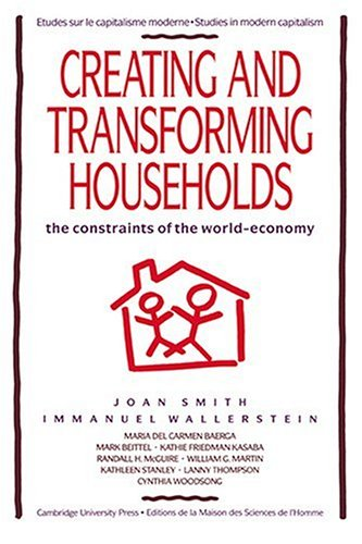 9780521427135: Creating and Transforming Households: The Constraints of the World-Economy (Studies in Modern Capitalism)