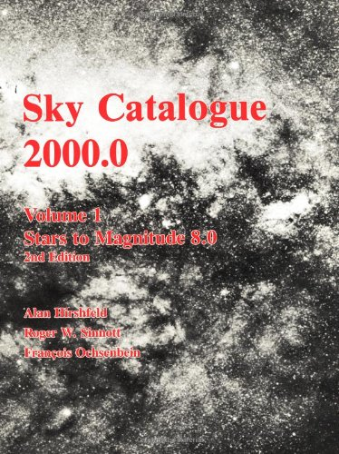 9780521427364: Sky Catalogue 2000.0: Volume 1 (Sky Catalogue 20000 2nd ed)