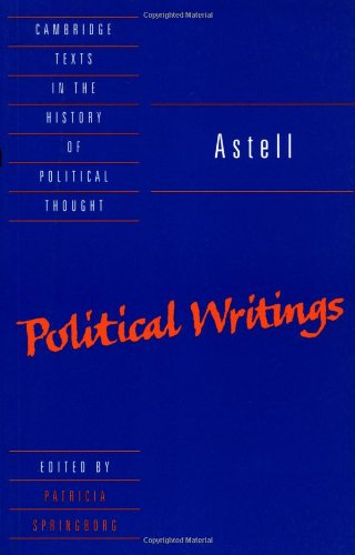 9780521428453: Astell: Political Writings (Cambridge Texts in the History of Political Thought)