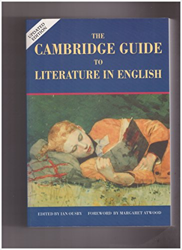 9780521429047: The Cambridge Guide to Literature in English