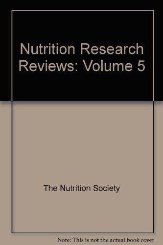 9780521429443: Nutrition Research Reviews: Volume 5