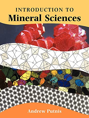 9780521429474: An Introduction to Mineral Sciences