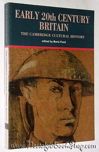 9780521429528: The Cambridge Cultural History of Britain (9 Volumes)