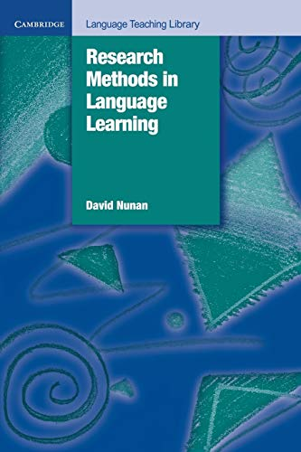 9780521429689: Research Methods in Language Learning (Cambridge Language Teaching Library)