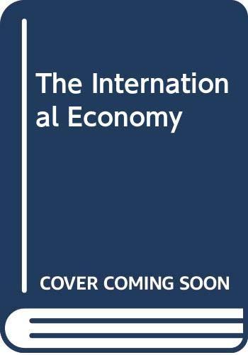 9780521430265: The International Economy