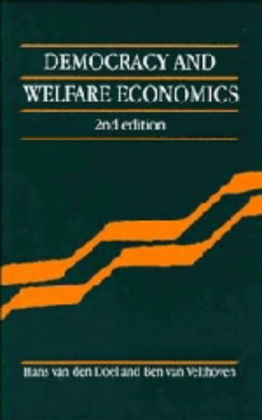 9780521430579: Democracy and Welfare Economics