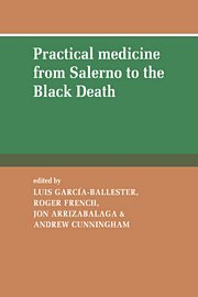 9780521431019: Practical Medicine from Salerno to the Black Death