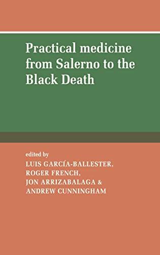 9780521431019: Practical Medicine from Salerno to the Black Death Hardback