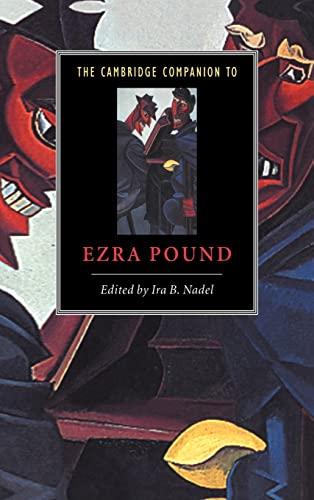 9780521431170: The Cambridge Companion to Ezra Pound Hardback (Cambridge Companions to Literature)