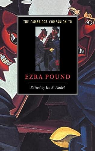 9780521431170: The Cambridge Companion to Ezra Pound (Cambridge Companions to Literature)