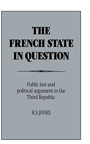 9780521431491: The French State in Question