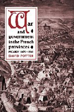 9780521431897: War and Government in the French Provinces