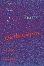 9780521432047: Hobbes: On the Citizen Hardback (Cambridge Texts in the History of Political Thought)