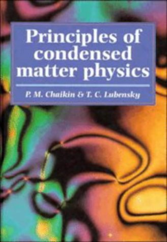 9780521432245: Principles of Condensed Matter Physics