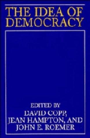 9780521432542: The Idea of Democracy