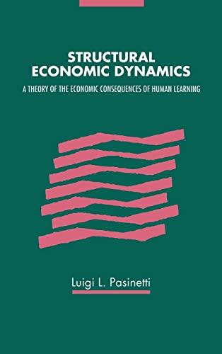9780521432825: Structural Economic Dynamics Hardback