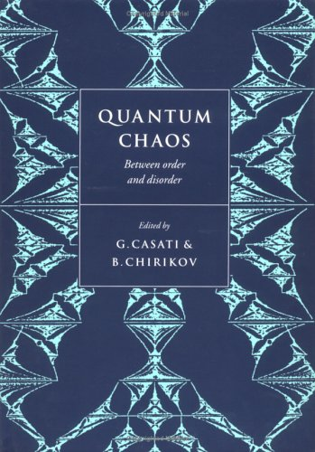 Quantum Chaos: Between Order and Disorder