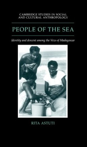 9780521433501: People of the Sea Hardback: Identity and Descent Among the Vezo of Madagascar (Cambridge Studies in Social and Cultural Anthropology)