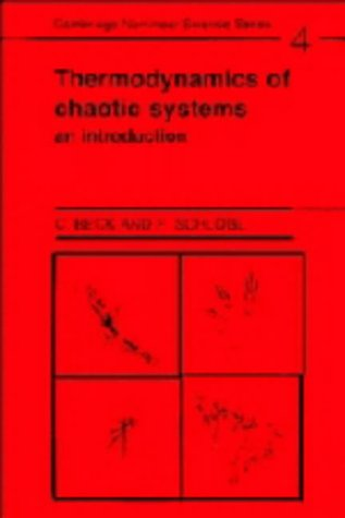 9780521433679: Thermodynamics of Chaotic Systems: An Introduction (Cambridge Nonlinear Science Series)