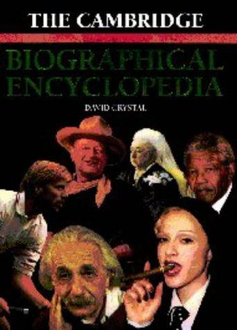 The Cambridge Biographical Encyclopedia: David Crystal
