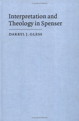 9780521434744: Interpretation and Theology in Spenser