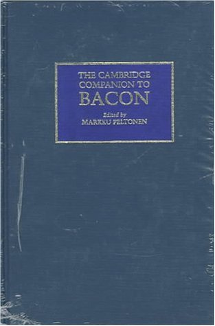 9780521434980: The Cambridge Companion to Bacon (Cambridge Companions to Philosophy)