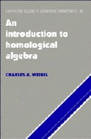 9780521435000: An Introduction to Homological Algebra (Cambridge Studies in Advanced Mathematics)