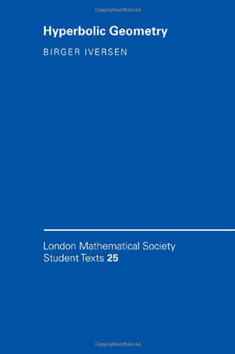 9780521435086: Hyperbolic Geometry