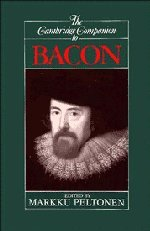 9780521435345: The Cambridge Companion to Bacon (Cambridge Companions to Philosophy)