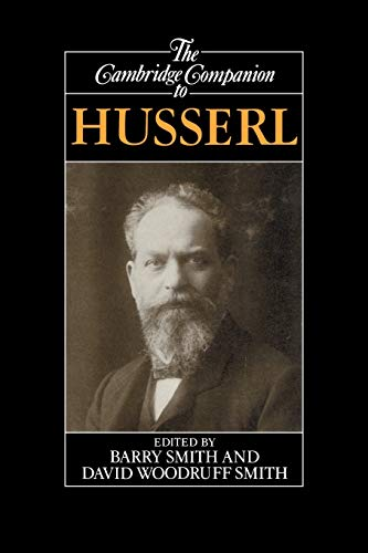 9780521436168: The Cambridge Companion to Husserl (Cambridge Companions to Philosophy)