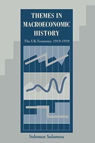 Themes in Macroeconomic History: The Uk Economy, 1919-1939: Solomou, Solomos