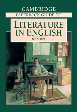 9780521436274: The Cambridge Paperback Guide to Literature in English