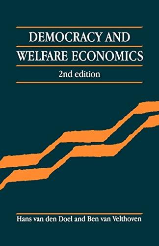 9780521436373: Democracy and Welfare Economics