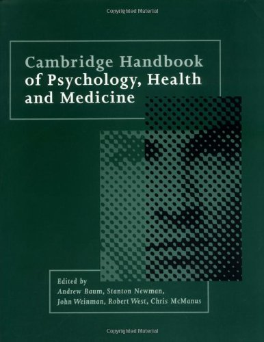 9780521436861: Cambridge Handbook of Psychology, Health and Medicine