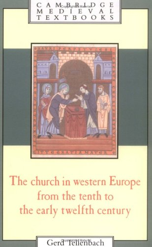 9780521437110: The Church in Western Europe from the Tenth to the Early Twelfth Century (Cambridge Medieval Textbooks)