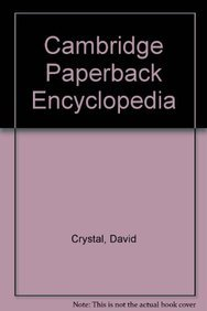 9780521437622: Cambridge Paperback Encyclopedia