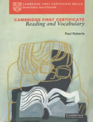 9780521437974: Cambridge First Certificate Reading and Vocabulary Student's book
