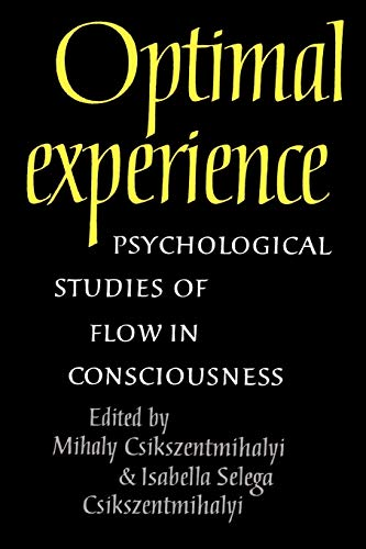 9780521438094: Optimal Experience: Psychological Studies of Flow in Consciousness