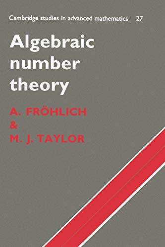 9780521438346: Algebraic Number Theory (Cambridge Studies in Advanced Mathematics)