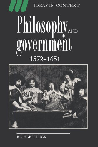 9780521438858: Philosophy and Government 1572-1651