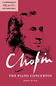 9780521441094: Chopin: The Piano Concertos Hardback (Cambridge Music Handbooks)