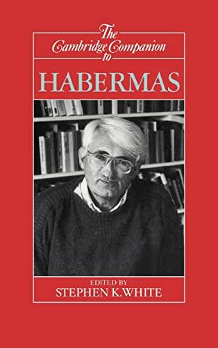 9780521441209: The Cambridge Companion to Habermas