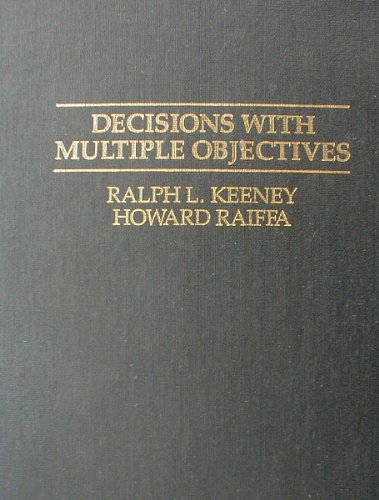 9780521441858: Decisions with Multiple Objectives: Preferences and Value Trade-Offs