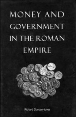 9780521441926: Money and Government in the Roman Empire