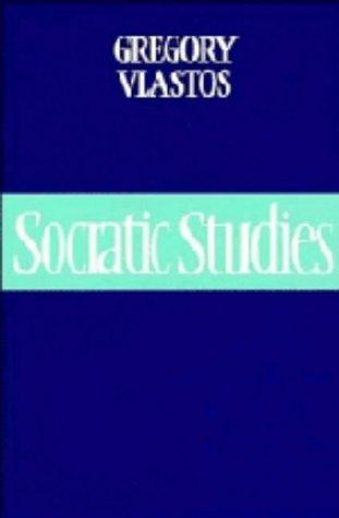 9780521442138: Socratic Studies