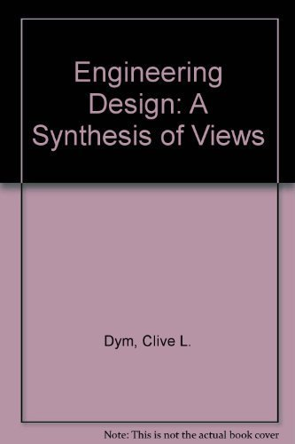 9780521442244: Engineering Design: A Synthesis of Views