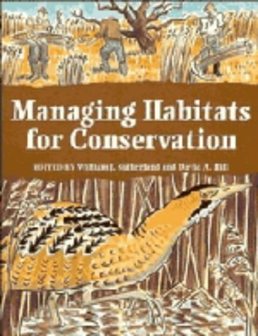9780521442602: Managing Habitats for Conservation